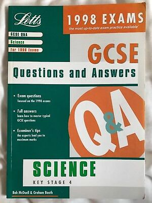 GCSE Science: Key stage 4 by Graham Booth, G.R. McDuell (Paperback, 1997)
