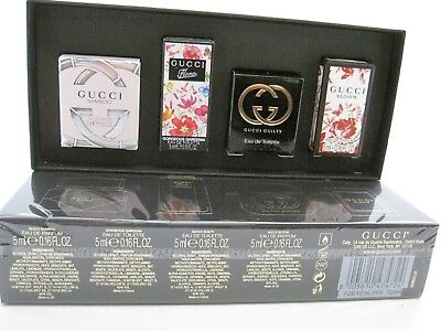 e54f7af2164 GUCCI WOMEN 4 Miniatures In Gift Set Gucci Bamboo