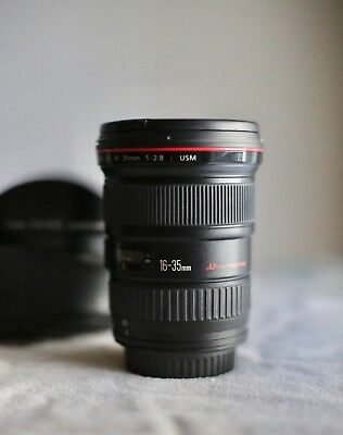 Lightly Used Canon 16-35mm 2.8L Wide Angle Zoom Lens