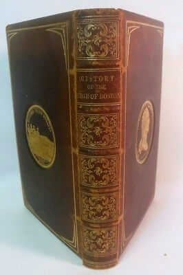 RARE History of the Siege of BOSTON Richard Frothingham  1851 Full Leather