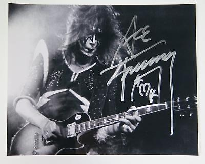 Ace Frehley KISS Signed Autograph 8x10 Photo