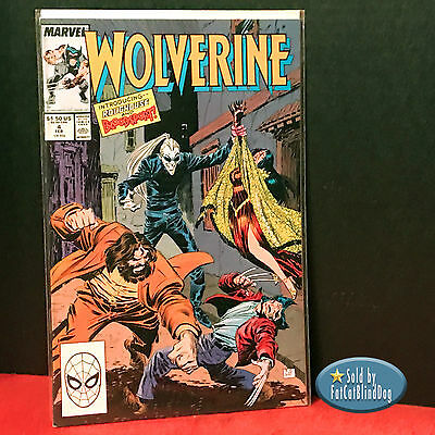 Wolverine #4 1989 Marvel 1St Print Cgc Ready 1St App Roughouse Bloodsport Vf/nm