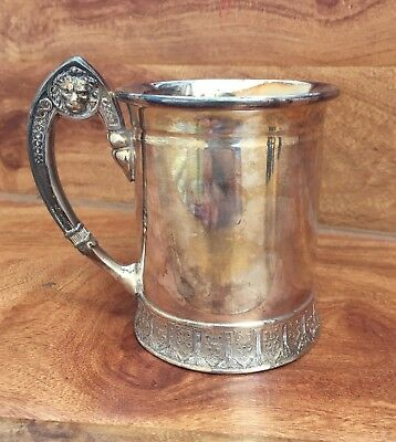 Reed & Barton Silverplate Cup With Lions