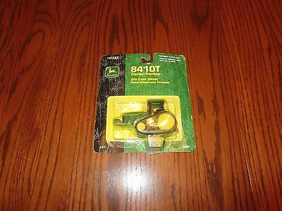 Vintage New Ertl Die-Cast John Deere 841OT Traction Tractor New on Card 1/64