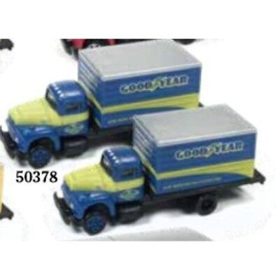 Mini Metals 50378 - Goodyear Tires Box Truck (Pair)- N Scale