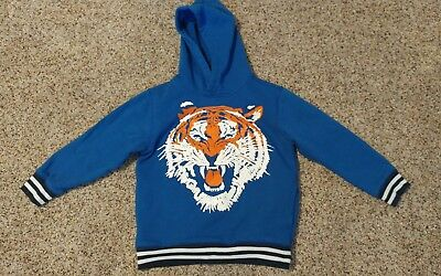 Boys Tiger Hoodie size S(5-6)