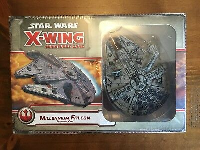 Star Wars x-wing Miniatures Game Millennium Falcon Expansion Pack Free Aust Post
