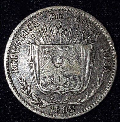 1892, 10 Centavos from Costa Rica.  No Reserve!