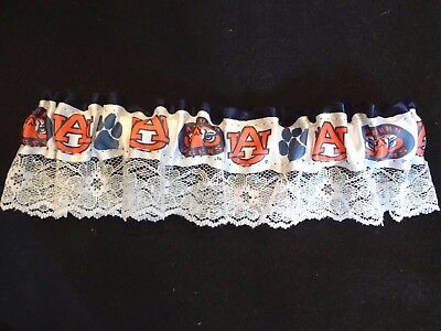 Auburn Tigers Wedding / Prom Garter~Auburn Colors Beautiful Sparkle Lace~NWT