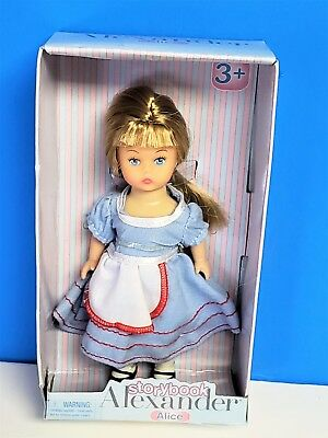 New Madame Alexander Storybook Alice  Doll  2012 5""