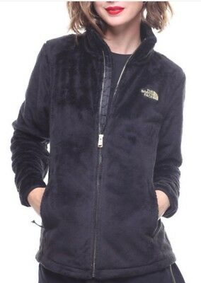 100% Authentic Womens The North Face Osito Jacket Black Size S