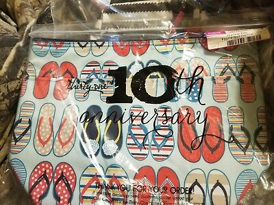 thirty one flip fun flop thermal lunch bag cooler insulated tote