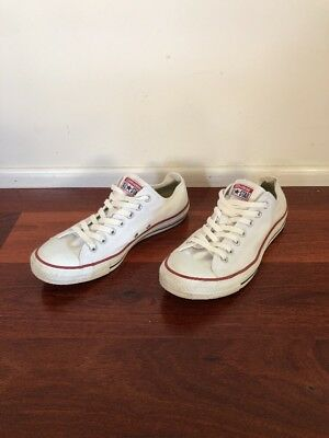 Converse All Star White Low Cut Chuck Taylor Shoes Sneakers Unisex