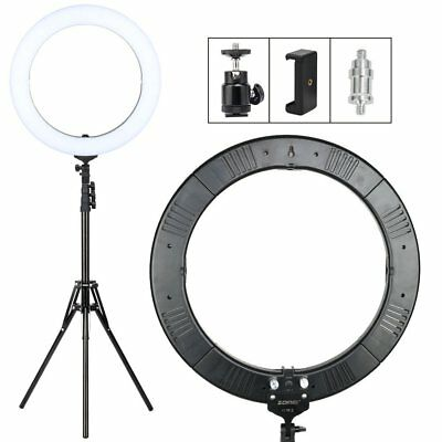 ZOMEI Camera Photo Video Lighting Kit:18 Inch LED Ring Light 55W 5500K Dimmable