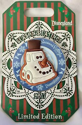 Disneyland Seasons Eatings 2017 Cars Land Snow Car Holiday Pin