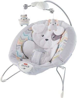 Fisher-Price My Little Snugapuppy Deluxe Super Comfy Baby Bouncer FREE SHIPPING
