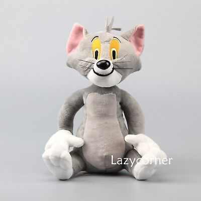 Cartoon Tom and Jerry the Cat Tom Plush Toy Stuffed Animal Doll 11'' Xmas Gift