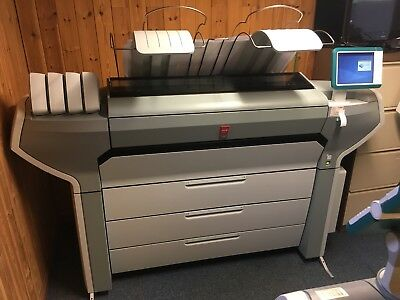 Oce Colorwave 700 Canon Wide Large Format Colour Printing Plotter Poster Plan