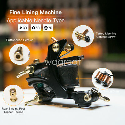 Top Professional Tattoo Machine Gun Copper Coil Liner WQ4146
