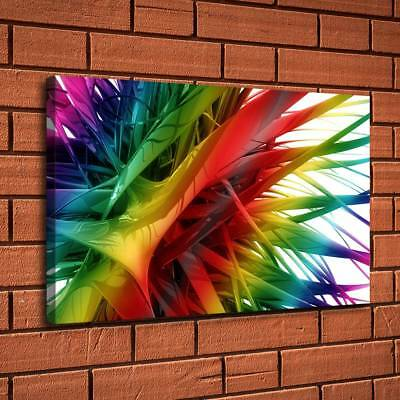 Colorful Abstract Art Painting HD Print Canvas Home Decor Room Wall Art Picture