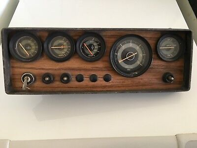 Boat Gauges And Dash Panel