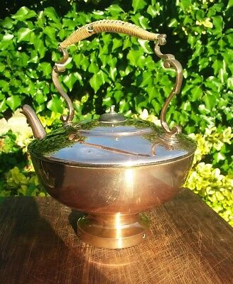 Antique Arts And Crafts Copper Kettle