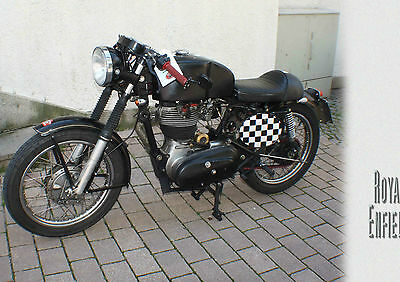 Postkarte > Oldtimer -Bike > ROYAL ENFIELD <