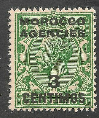 Morocco Agencies #46 (SG #126) VF MNH - 1912 5c on 1/2p King George V
