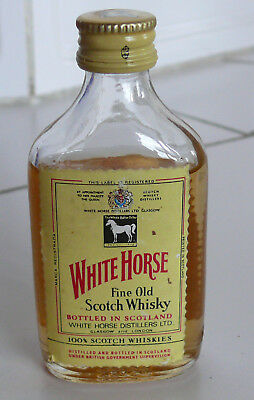 White Horse Scotch WHISKY Miniatur (N2472)