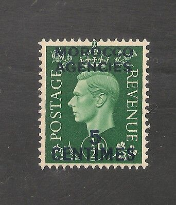 Morocco Agencies #440 (SG #230) VF MNH - 1937 5c on 1/2p King George VI