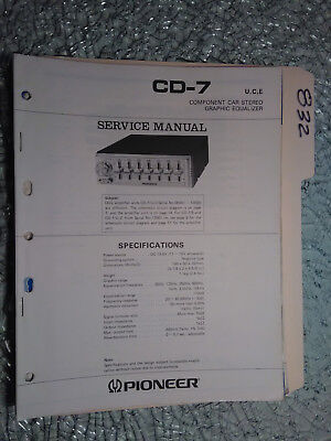 Pioneer bp 880 650 450 service manual original repair car stereo eq pioneer cd 7 service manual original repair book car radio stereo eq 19 pages cheapraybanclubmaster Image collections