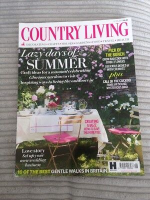 Country Living Magazine. Read Once. JUNE 2018. VGC