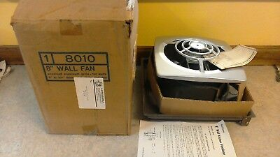 Nutone 8010 In Wall Pull Chain Kitchen Exhaust Fan Vintage