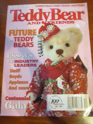 Old Teddy Bear Magazine Teddy Bear And Friends December 2002 *** Must See ******