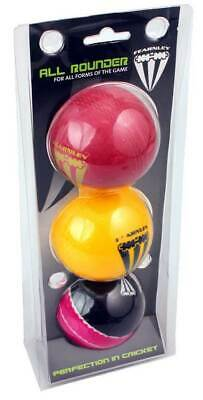 NEW All Rounder 3 Pack Cricket Balls