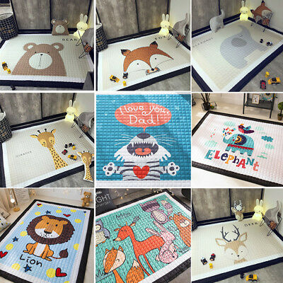 Baby Kids Nursery Play Crawling Mat Thick Non-slip Foldable Portable Room Decor