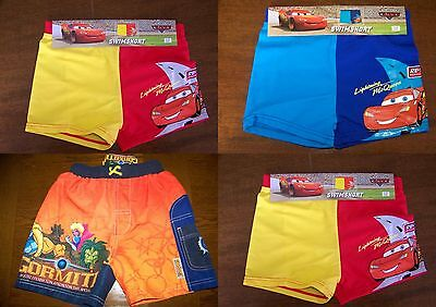 Lot de 3 short de bain Gormiti et CARS T.10 ans