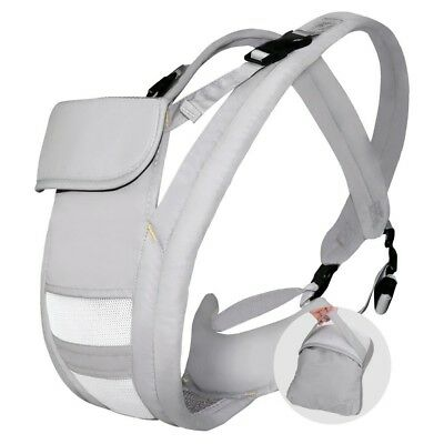 Hommie Ergonomic Baby Carrier, Four Position Soft Breathable Carrier for All Sha