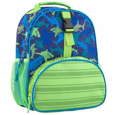 Stepheh Joseph All Over Print Mini Backpack Shark Blue Green School