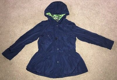 Next girls coat Age 10 Years Navy Blue Quilted Peplum Jacket 🎀