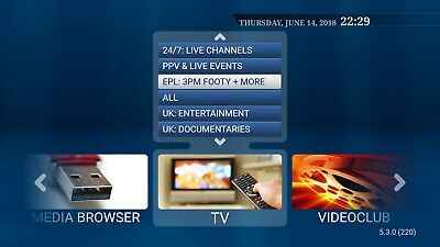 12 Month IPTV Subscription Warranty | Over 5000 HD Channels | Playback + VOD