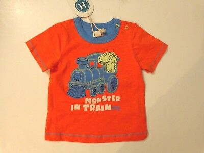 NWT Hatley boy's 9-12 months Monster in Training short sleeved tee