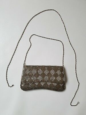 Oasis evening bag with 2 length detachable chains Buy it now price £9.99!