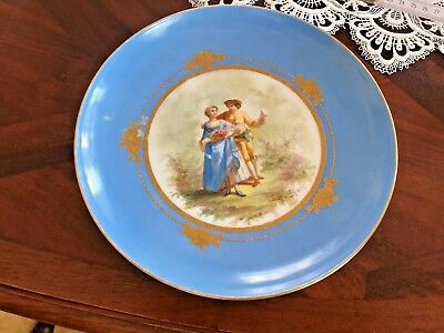 Plate Sevres 1754