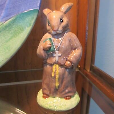Royal Doulton Bunnykins FRIAR TUCK from THE ROBIN HOOD COLLECTION  MINT!