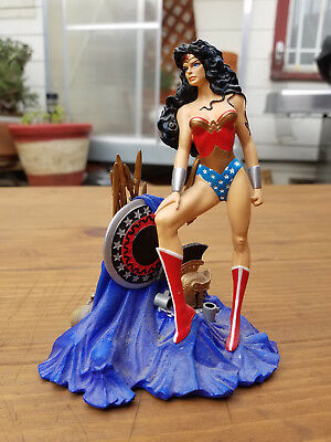 DC Direct DC Comics: Wonder Woman Mini-Statue by Brian Bolland
