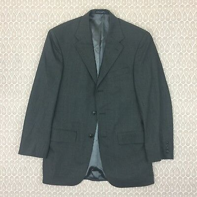 Nautica Mens Gray Sport Coat Blazer Suit Jacket Size 36R Y6