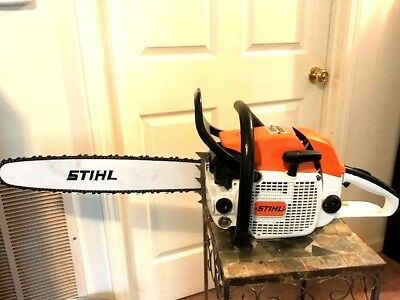 VINTAGE STIHL 028 Wood Boss Chainsaw With 18 Bar And Chain