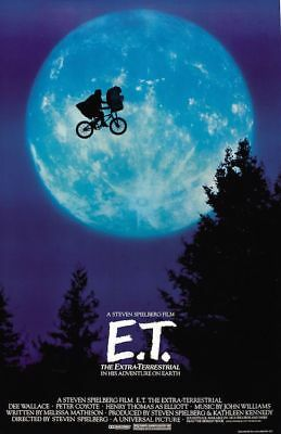 ET - THE EXTRA-TERRESTRIAL - ONE SHEET MOVIE POSTER 24x36 - 28288