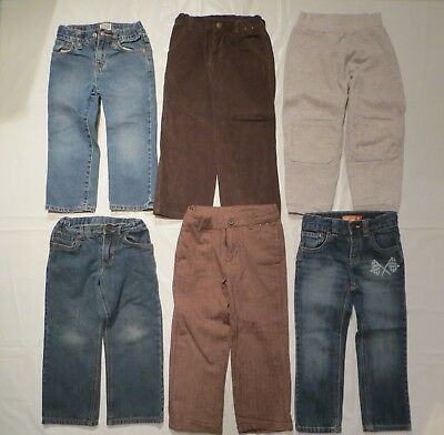 Boys Size 4 Circo Childrens Place Cherokee Old Navy Jean Pants Lot 4T